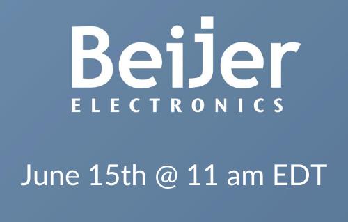 Beijer Webinar June